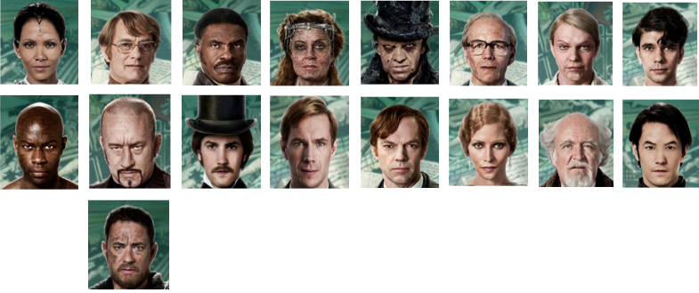 Personajes Cloud Atlas